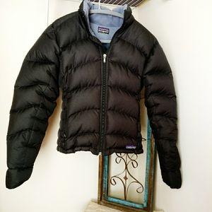 Patagonia Short Puffer Down Filled Black Jacket xs